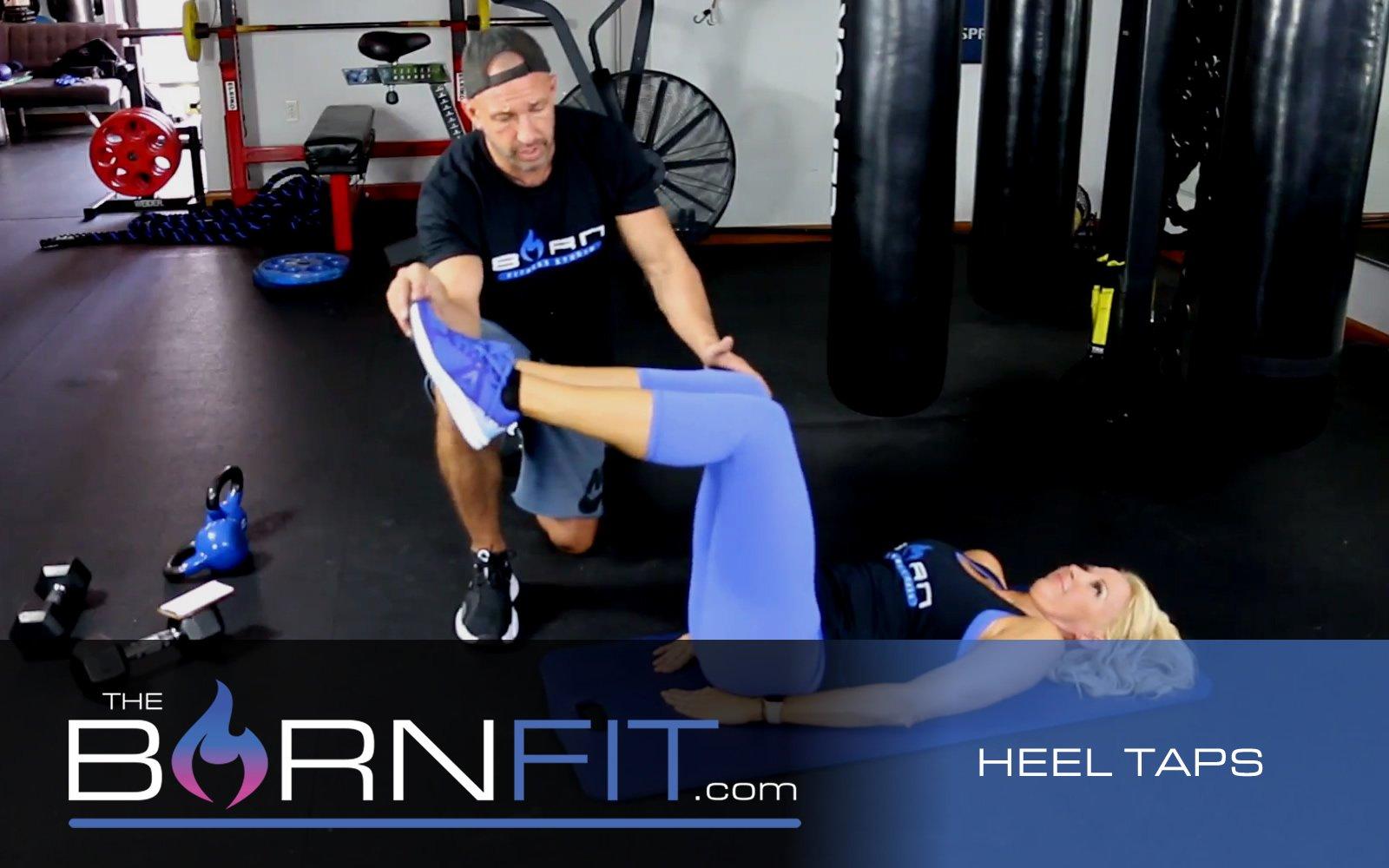 Heel Taps Workout
