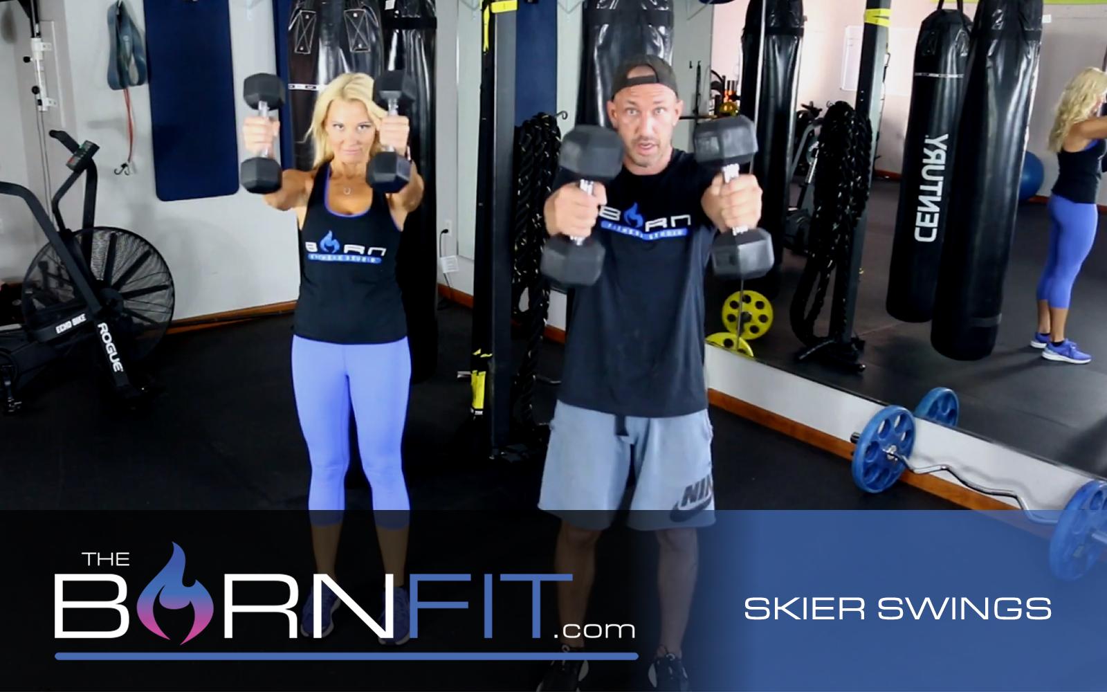 Skier Swings workouts