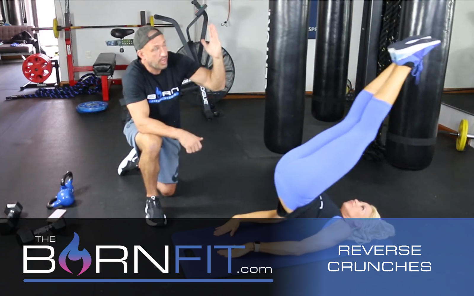 reverse crunches workout