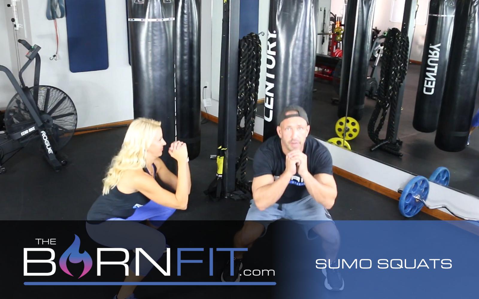 sumo squats workout