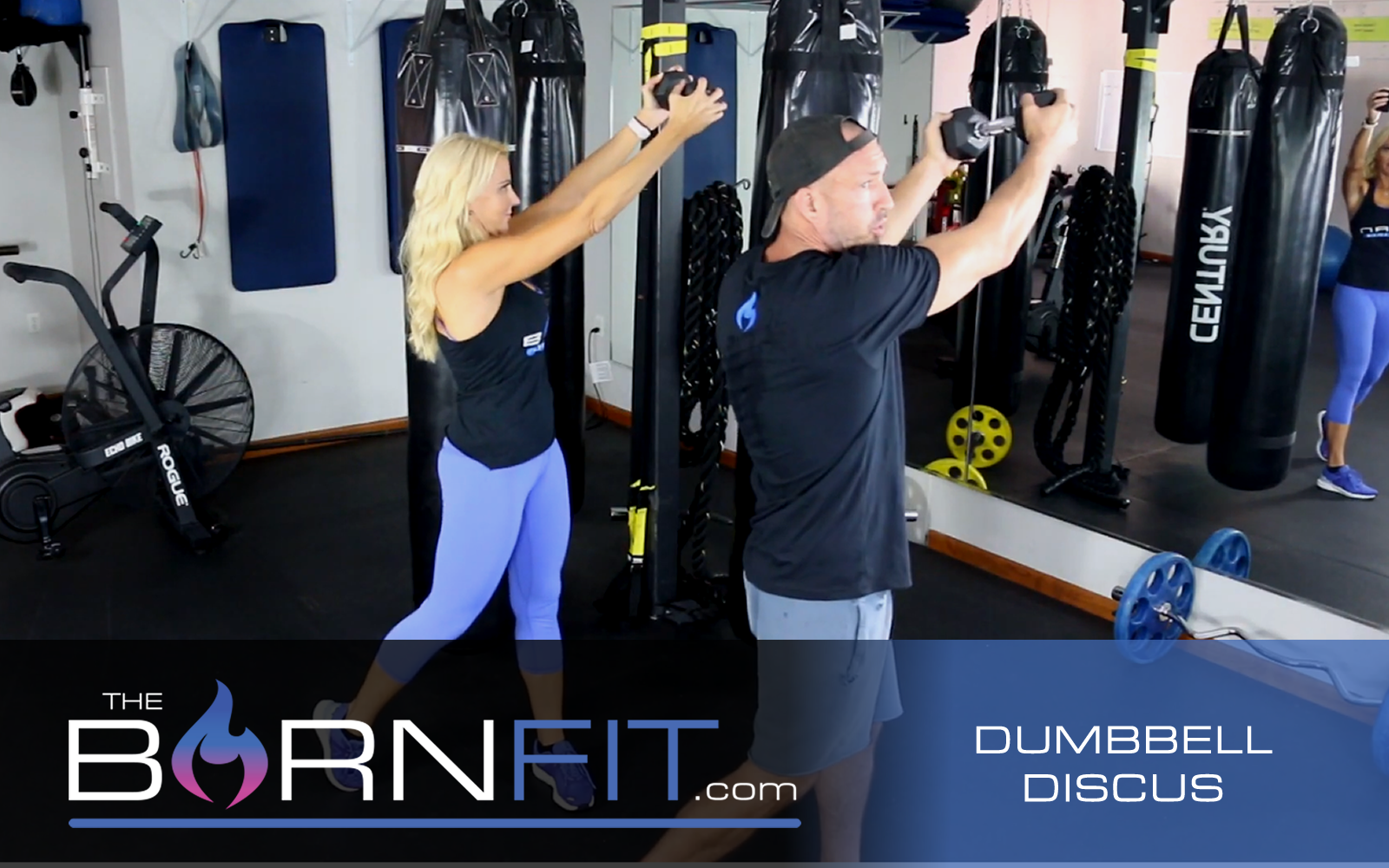 Dumbbell Discus workouts