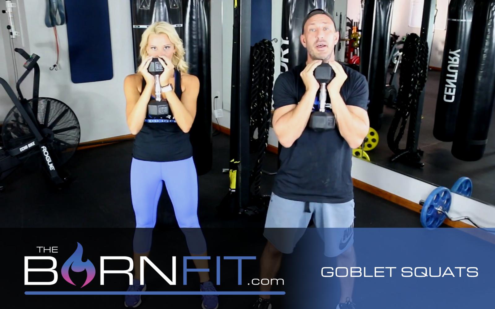 Goblet Squats workouts