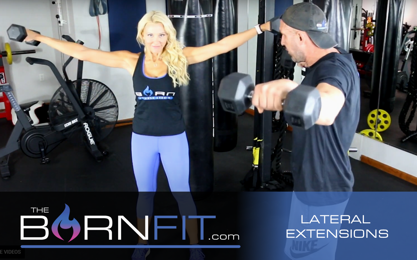 LAteral Extensions workouts